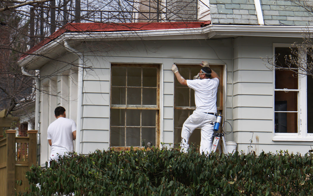 Residential exterior painting in Pasadena